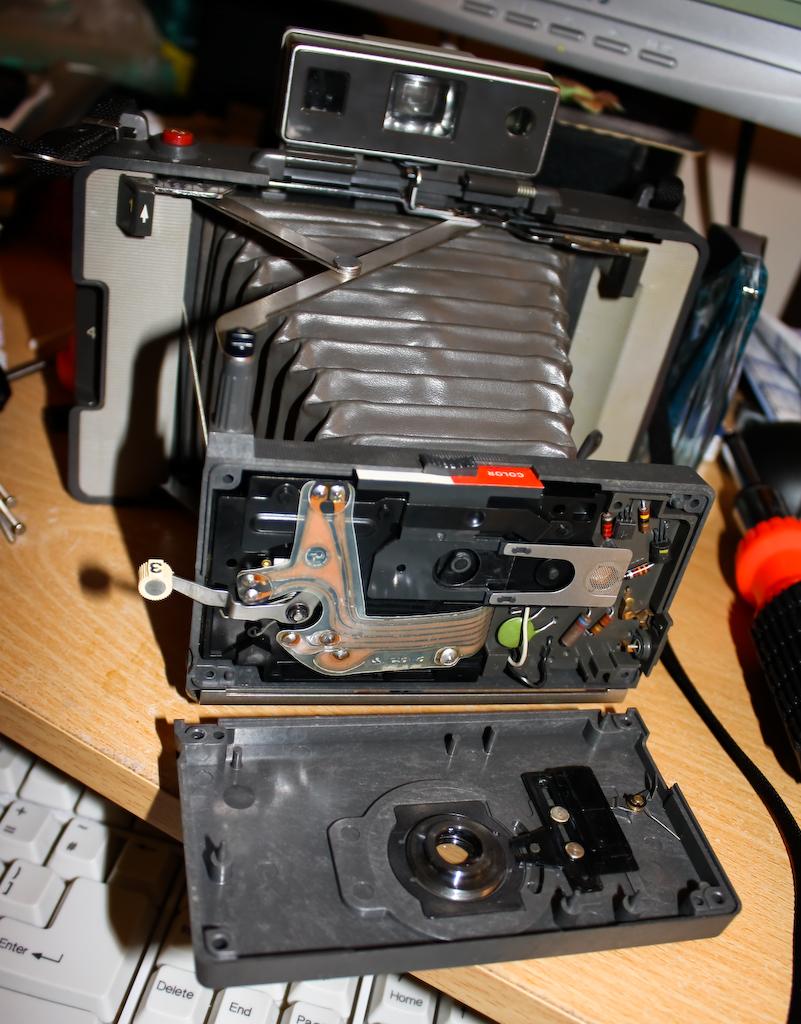 a Polaroid Automatic 103